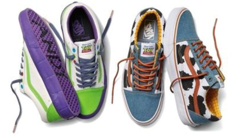 First Look At The New 'Toy Story' Inspired Vans
