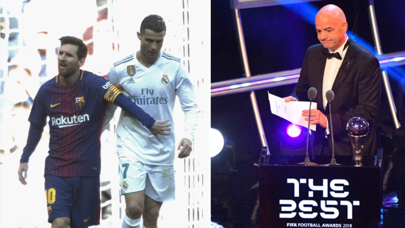 FIFA Respond To Lionel Messi And Cristiano Ronaldo Not Attending 'The Best' Awards