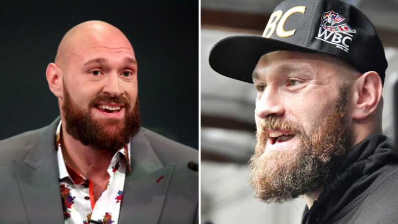 Tyson Fury Walked Around LA Bare Foot After Giving His Shoes To Homeless Man