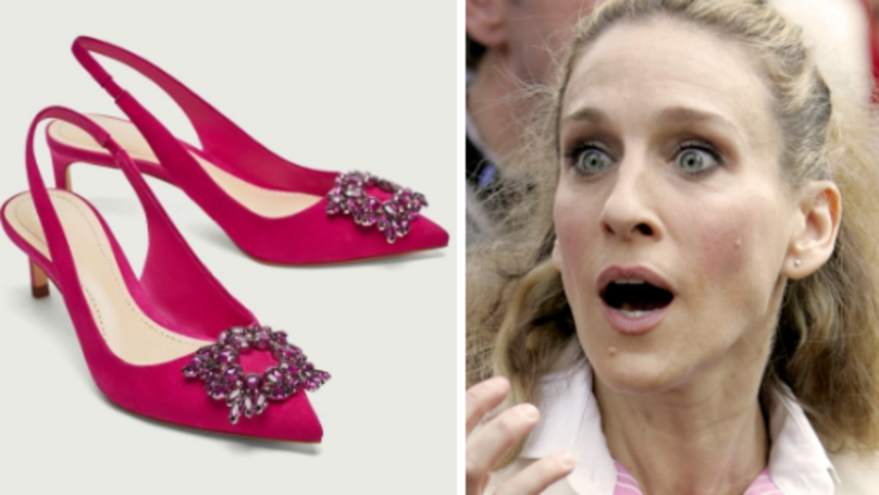 Zara Are Selling A Pair Of Designer Carrie Bradshaw Heels For Almost £700 Cheaper