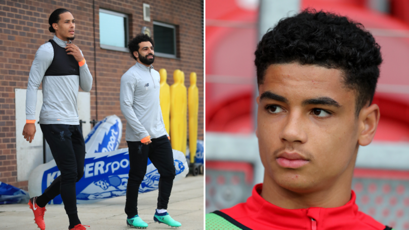 How 16-Year-Old Ki-Jana Hoever 'Blew Away' Senior Players In Liverpool Training