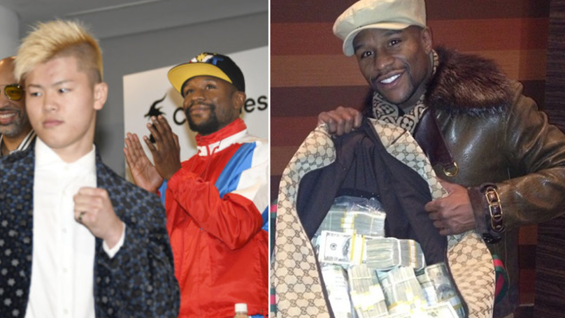 Floyd Mayweather Set To Earn £69 Million For Fight Against Tenshin Nasukawa