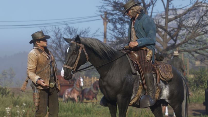 'Red Dead Redemption 2' Will Be So Realistic Horse's Balls Shrink In The Cold