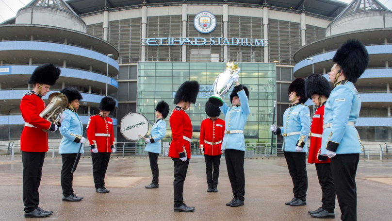 Changing Of The Guard-Iola In Manchester