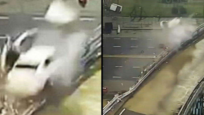 Teen Somehow Survives Horror Crash From Elevated Motorway At 105MPH