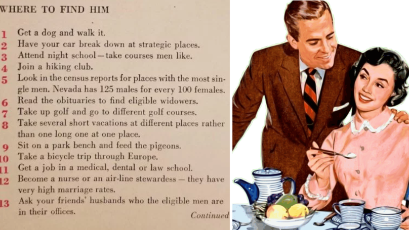 Here's How To Bag Yourself A Husband - According To The 1950s