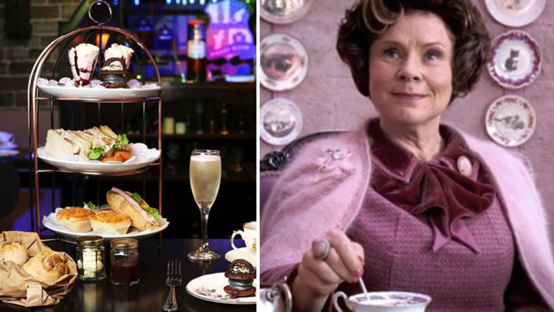This Harry Potter-Inspired Afternoon Tea Looks Enchanting