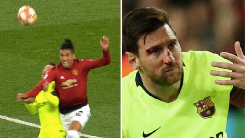 Chris Smalling Has Spoken About His Collision With Lionel Messi