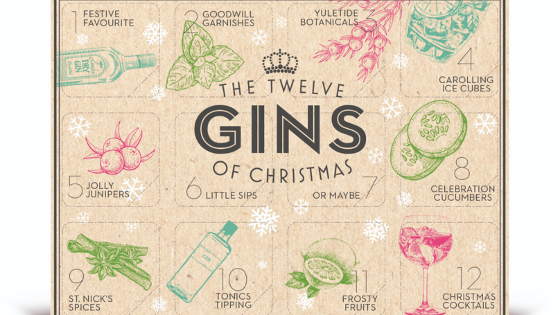B&M Is Selling An Advent Calendar With 12 Different Gins