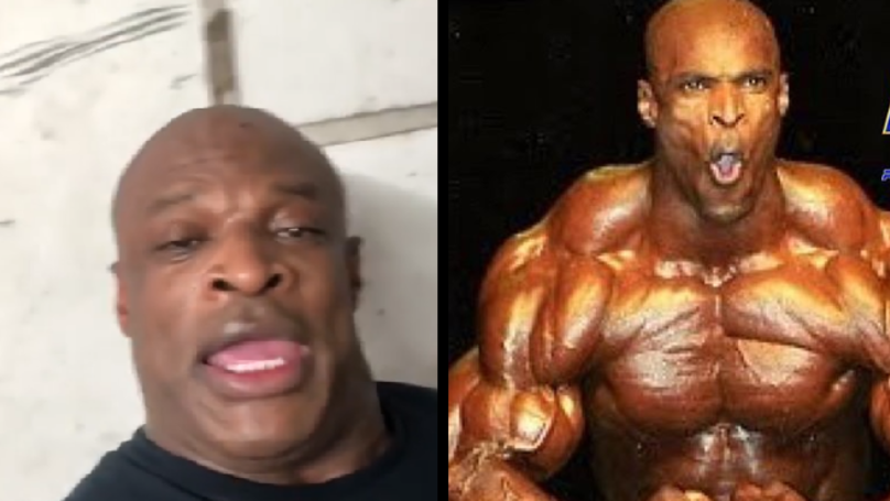 Bodybuilding Legend Ronnie Coleman Back In The Gym