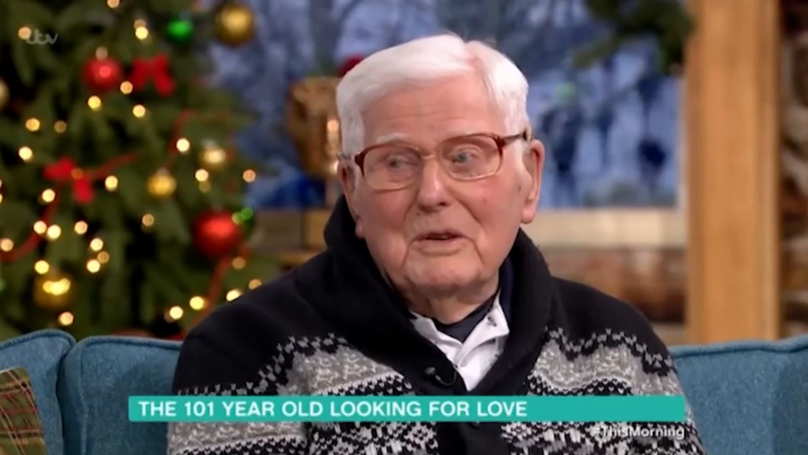 ​101-Year-Old Opens Up About Trying To Find Love On First Dates Christmas Special