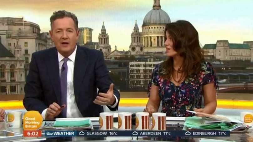 Piers Morgan Controversially Reckons Milk Goes In First When Making A Brew