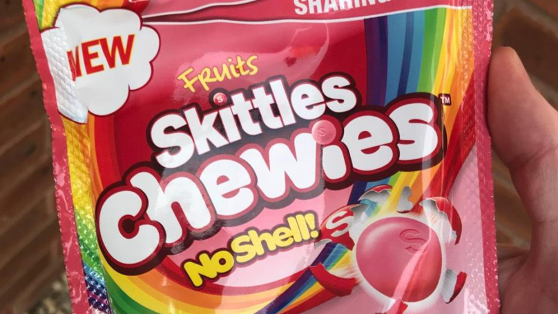 Mars Are Releasing Skittles Chewies - Without The Shell Casing