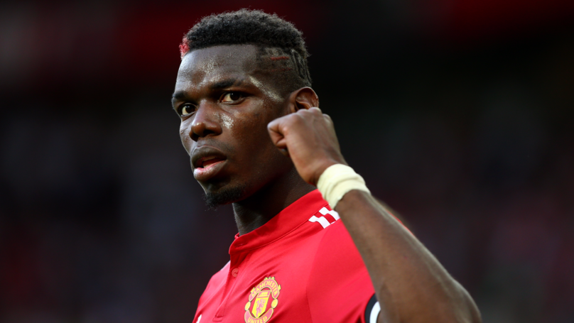Paul Pogba Names His Two Role Models At Manchester United
