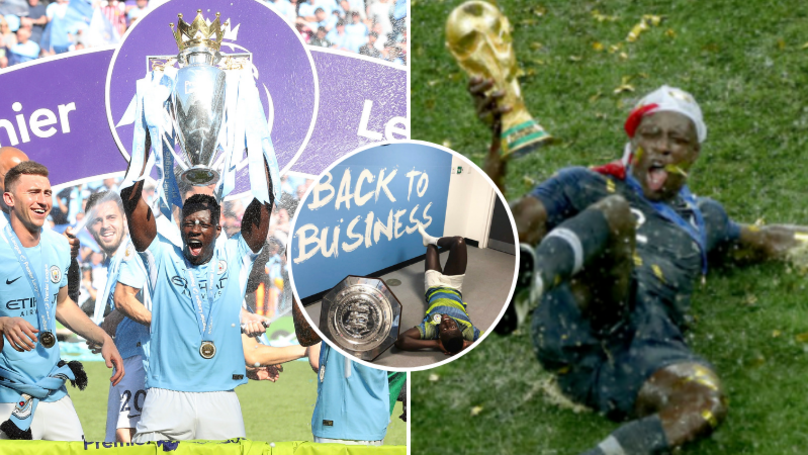 Benjamin Mendy Has Won Six Trophies In Just 22 Games Across 12 Months