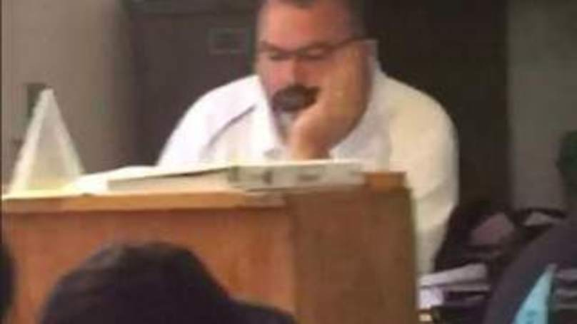 Teacher's Internet Habits Revealed To Whole Class In Embarrassing Video