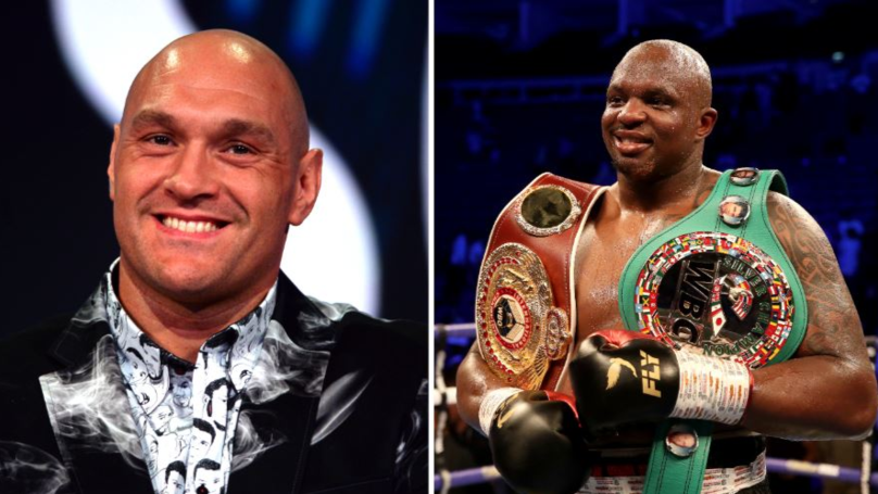 Tyson Fury To Fight Dillian Whyte For WBC Diamond Belt