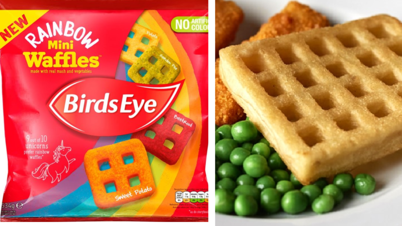 Birds Eye Is Doing Rainbow Waffles To Brighten Up Your Breakfast