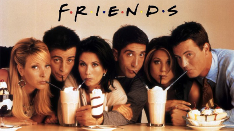 'Friends' Has Been Voted The Greatest Sitcom Of All Time