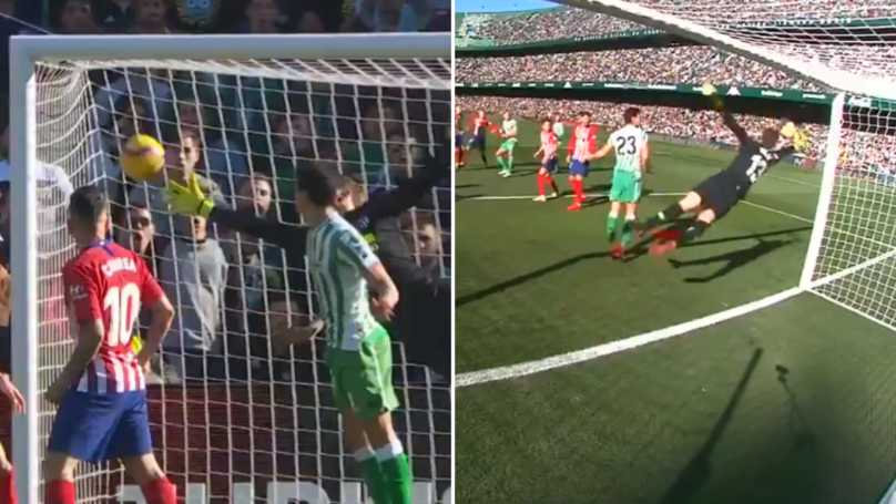 Atletico Madrid's Jan Oblak Pulls Off Sensational One Hand Save In La Liga Game