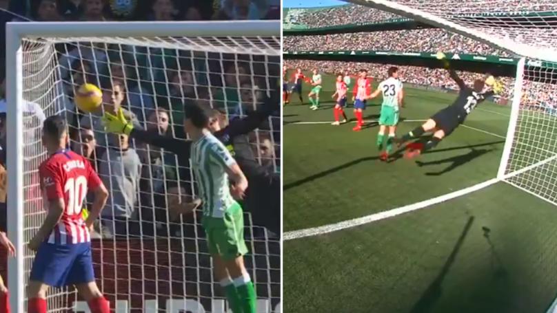 Atletico Madrid's Jan Oblak Pulls Off Sensational One Hand Save In La Liga Game
