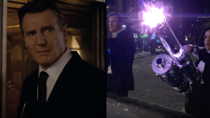 Liam Neeson Is Now Fighting Aliens In New 'Men In Black' Trailer