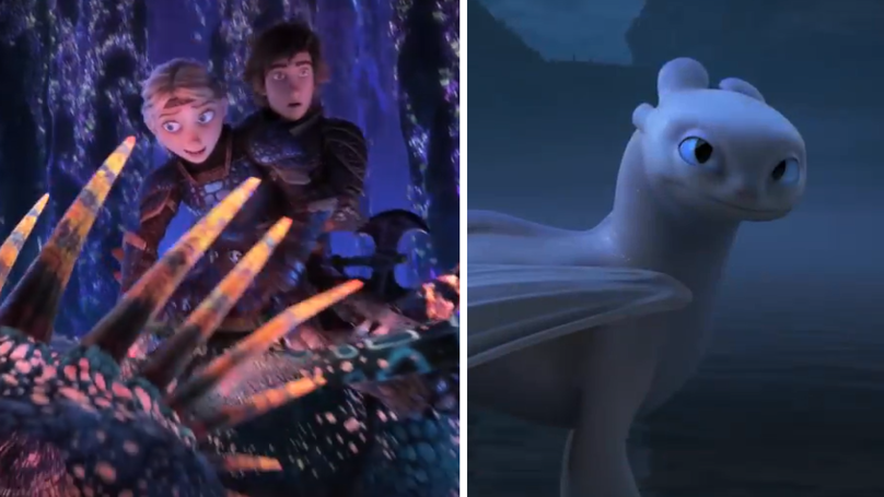 How To Train Your Dragon 3 Just Released First Hidden World Trailer