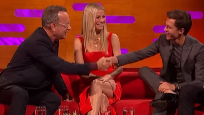Tom Hanks Tests Tom Holland's Acting And It's Pretty Awkward