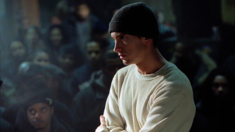​Eminem Shares Throwback Snap 16 Years On From '8 Mile' Release