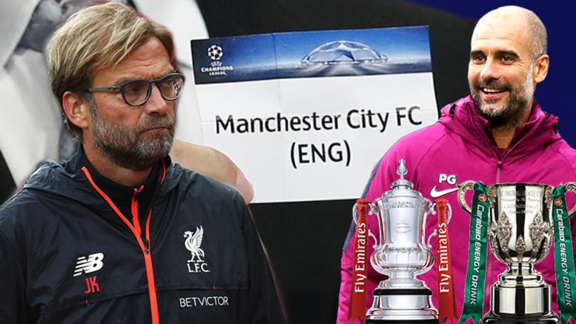 Liverpool Fans Are Now Complaining Manchester City Are 'Buying' Favourable Cup Ties