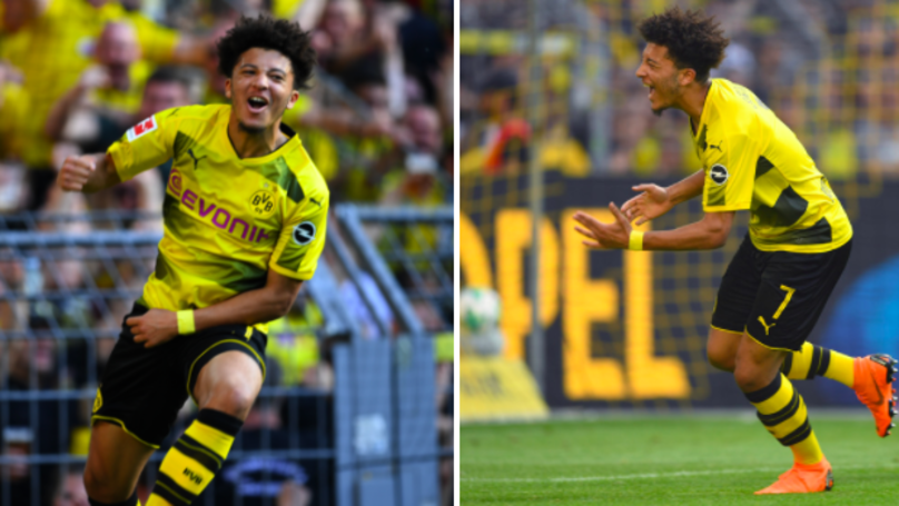Jadon Sancho Well And Truly Arrived In The Bundesliga Today