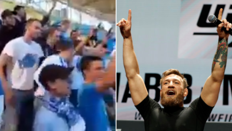Zenit Fans Wind Up Khabib's Local Team Anzhi By Chanting Conor McGregor's Name