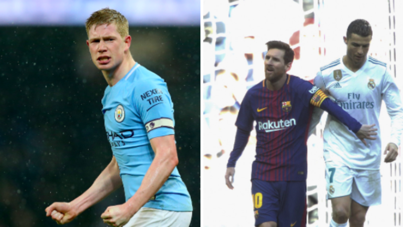 Kevin De Bruyne Has Perfect Response To Messi And Ronaldo Comparisons