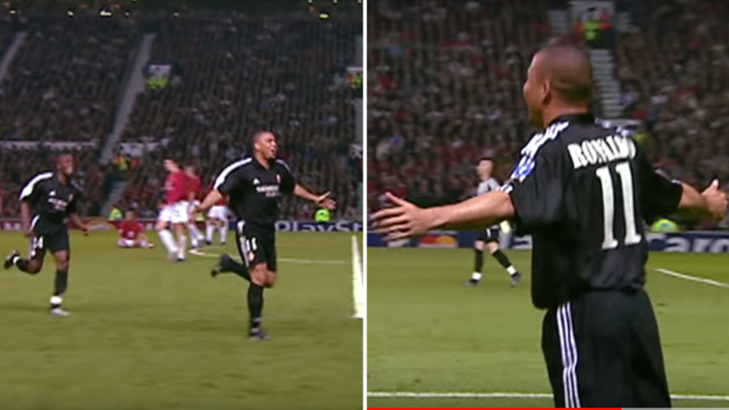 Ronaldo Picks 2003 Champions League Match Against Manchester United As His Favourite Moment