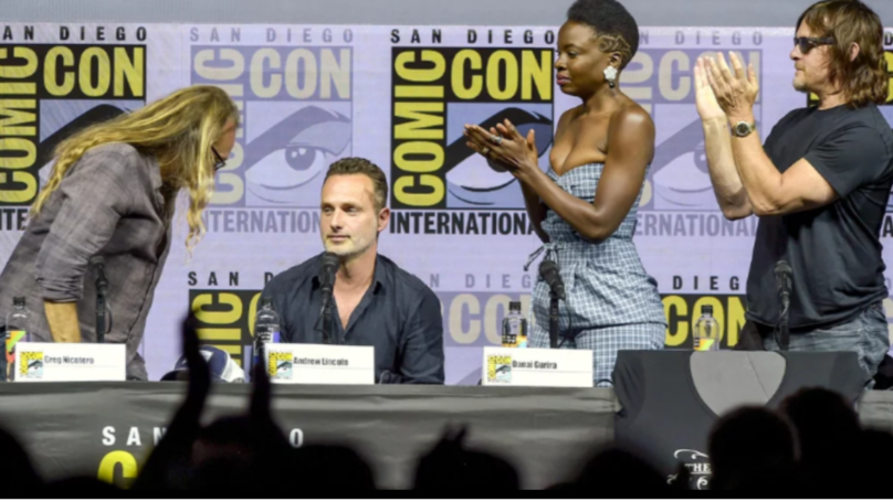 Andrew Lincoln Gets Standing Ovation During Last Ever 'Walking Dead' Comic-Con