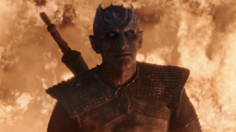 Game Of Thrones Boss Explains Why Dragon Fire Didn't Kill The Night King