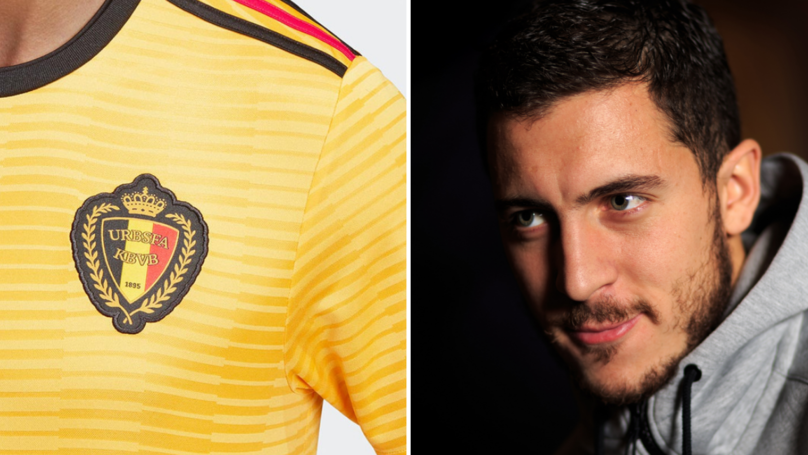 Images Of Belgium's Away Kit For The 2018 World Cup Leaked