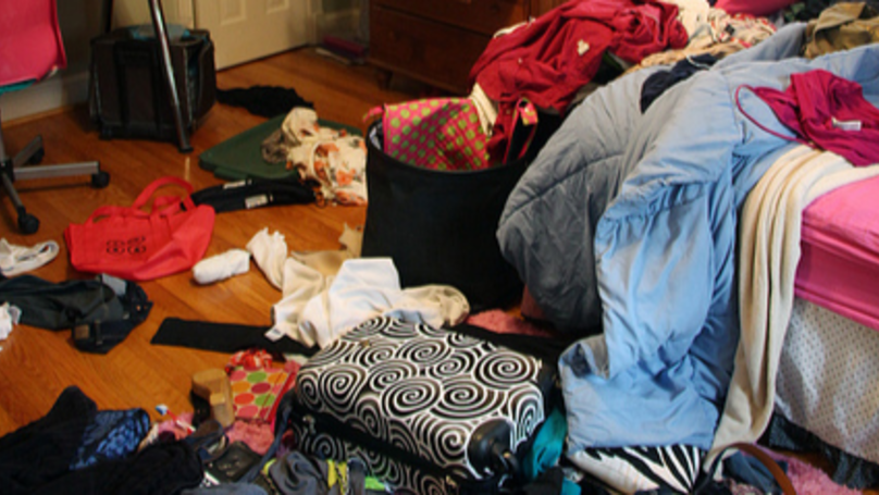 Mum Threatens To Evict Daughter From Her Room Because It's A Mess