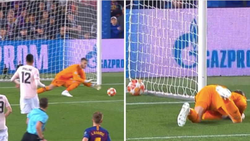 David De Gea Drops The Biggest Howler To Gift Lionel Messi A Goal