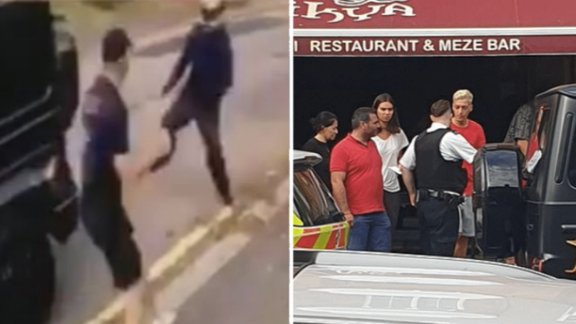 Mesut Ozil And Sead Kolasinac Were Chased By Knife-Wielding Motorbike Riders For 15 Minutes