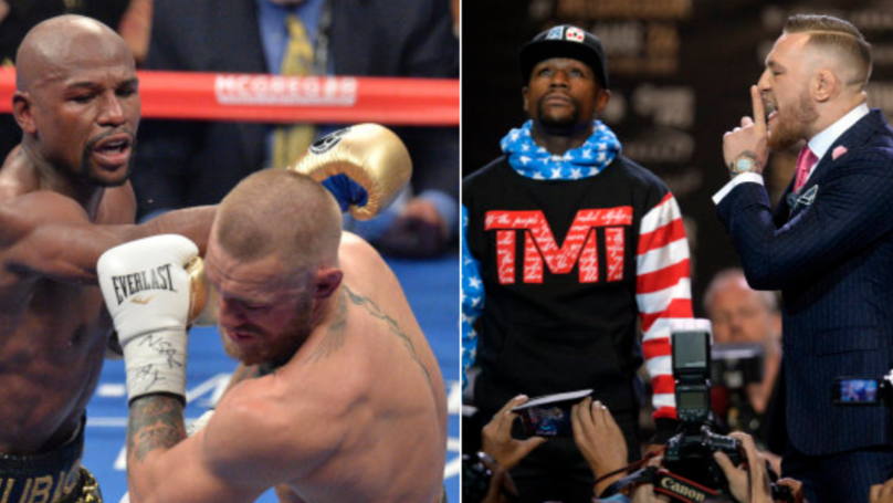 Conor McGregor Responds To Floyd Mayweather's Offer In Typical Fashion