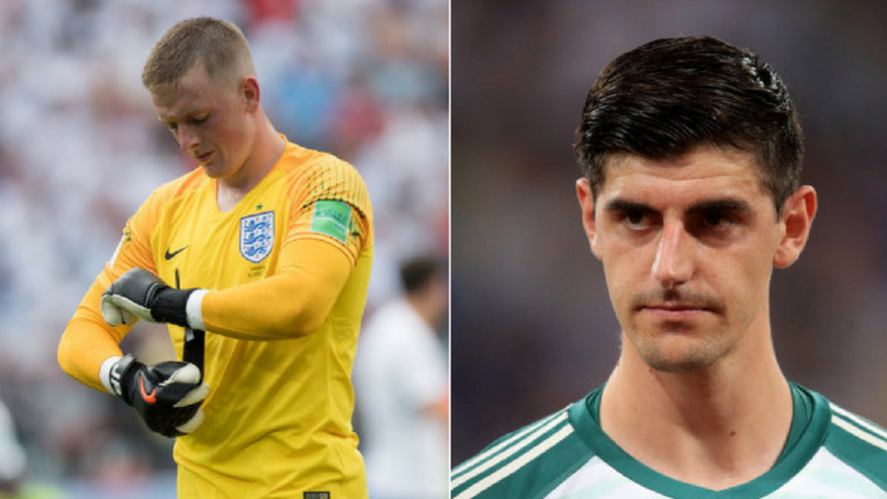 Jordan Pickford Hits Back At Thibaut Courtois Following Stunning Colombia Performance