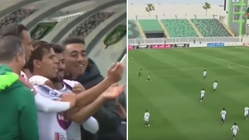 Team Try To Imitate Balotelli's Selfie Celebration, It Ends In Disaster