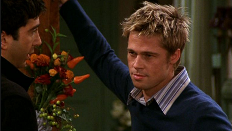 This Shocking Brad Pitt Scene From 'Friends' Is A Real Inconsistency