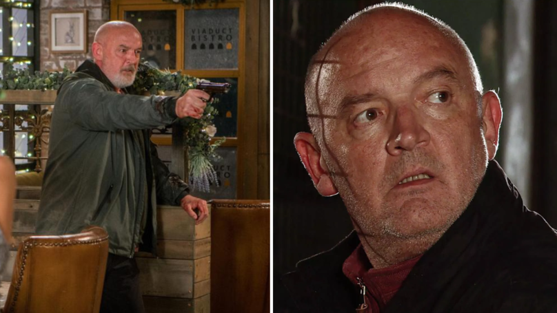 Pat Phelan's Corrie Exit To Be Aired After Watershed Due To Gruesome Scenes