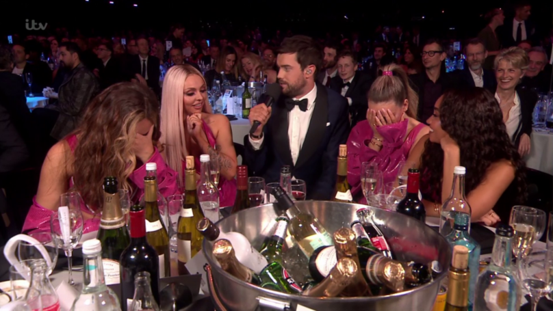 Jack Whitehall Quizzed Jesy Nelson About Chris Hughes At The BRIT Awards
