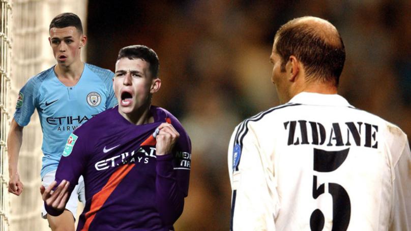 Michael Owen Has Compared Phil Foden To Real Madrid Legend Zinedine Zidane