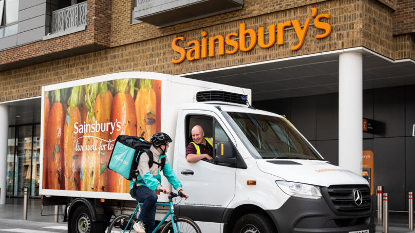 You Can Now Order Pizza From Sainsbury's On Deliveroo