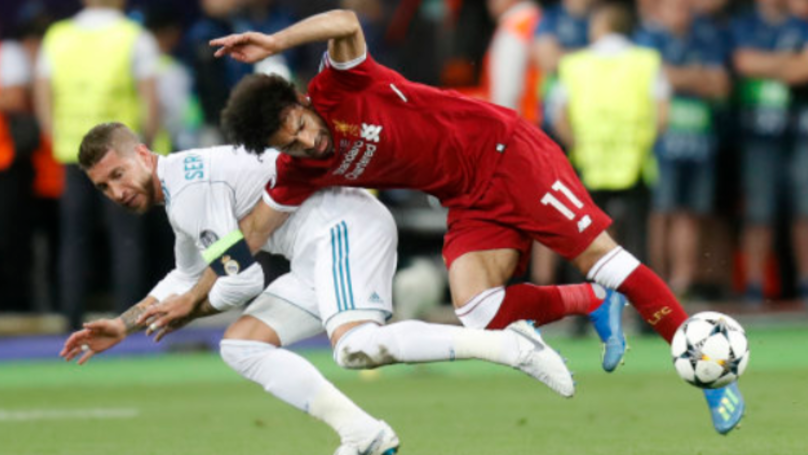 There's A Petition To 'Punish Sergio Ramos For Intentionally Hurting Mohamed Salah'