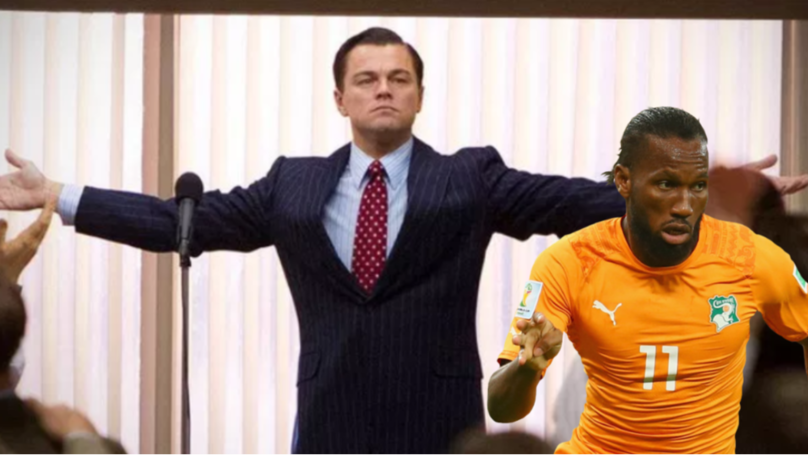 "Didier Drogba Plays Down Retirement With ""I'm Not Leaving"" Wolf Of Wall Street Video"
